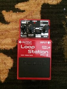 Boss Loop Station RC-2