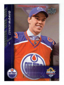 2015-16 Upper Deck NHL Draft SP1 Connor McDavid SP RC Rookie Dra