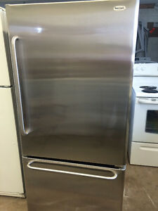 Beaumark Stainless Freezer bottom