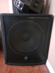 Powered speakers /sub and mixer