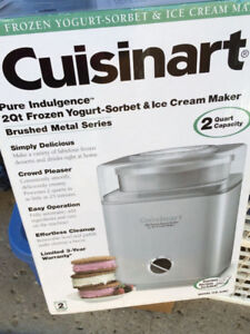 Ice cream maker and other stuff