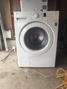Lg front load washer for sale