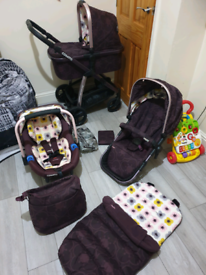 Cosatto posy nitty gritty 3 in 1 travel system