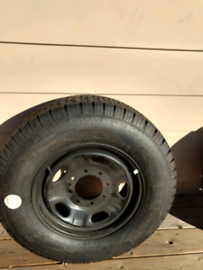 Brand new tire and rim chevy or gm pickup or tahoe