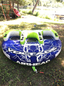 Airhead Voltage three person towable tube - barely used!