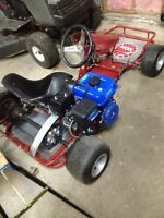 Go cart 4 sale $600. 962-6195.