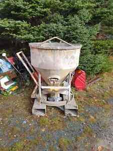 Concrete mixer and bucket St. John's Newfoundland image 2