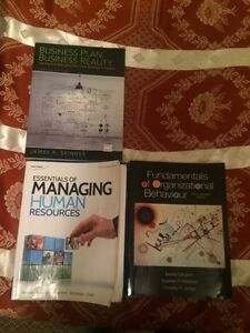 Holland college  Business Admin books