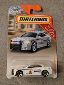 Matchbox Dodge Charger Police Pursuit - RCMP Edition (Canadian)