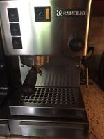 Rancilio Coffee Machine + Grinder like new