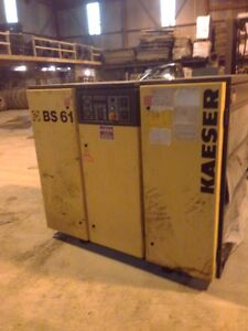 Kaeser BS61 air compressor