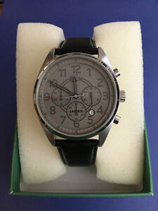 Like New Mens Lacoste Zaragoza Watch with Chronograph