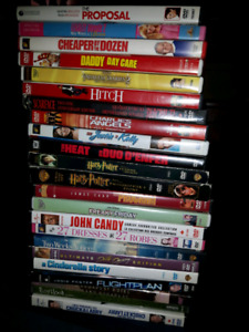 DVDs - lot of 23 for $20