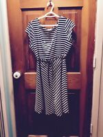 XL maternity dress robe