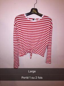 vêtements à vendre faites un prix