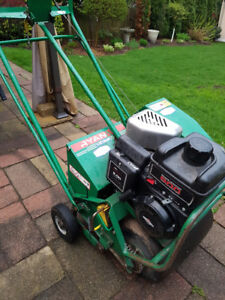 Power Aerator Textron Lawnaire IV