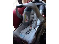 Free graco car seat with isofix (gone stc)
