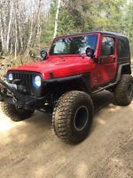 Jeep tj 5 speed. One of a kind