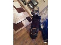 Wilson golf clubs- full set and bag £100