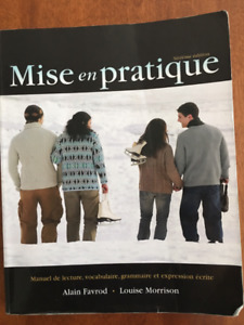 Mise en Pratique, 6th edition $20 obo