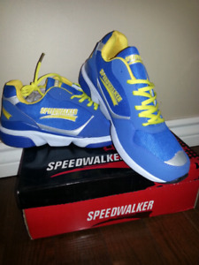 Speed walker running shoes. New Size 10.5(US)