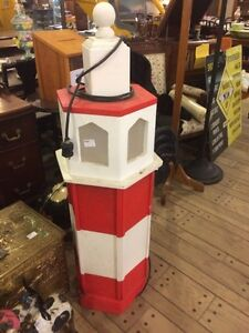 Over 4' tall lighthouse that lights up!  London Ontario image 1
