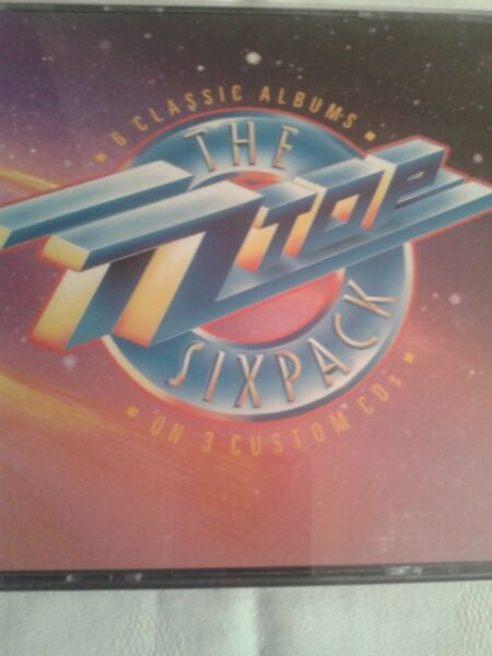 The ZZ Top -- Six Pack, 3 cd