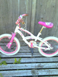Two little girls bikes for sale.