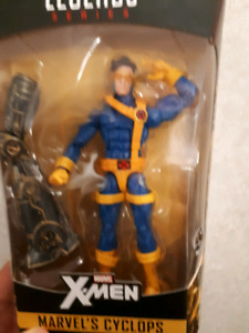 Three Jim Lee X Men figures