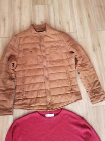 Zara Man Jacket & a Jumper