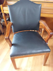 Antique Marble and Shattuck Arm Chair - Restored