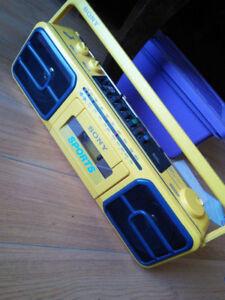 80s Sony Sports Boombox