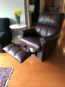 Lazy Boy Leather Chair