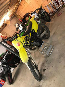 2004 RM 250 two stroke, with papers!