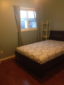 Clean furnished room for rent in West Edmonton home