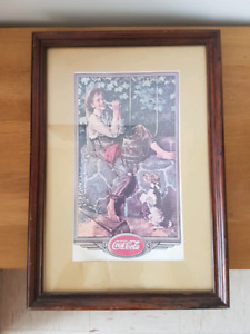 2 Old Coca-Cola wall hangings