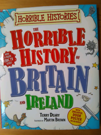 TWO HISTORY BOOKS 'The Horrible History of Britain and Ireland'