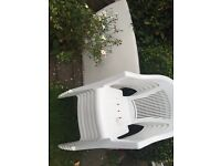 Garden chair and table set
