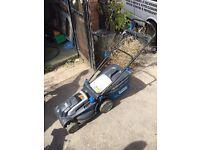 Mac Allister lawn mower electric