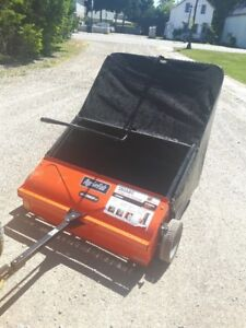 YARD SWEEPER - LIKE NEW CONDITION