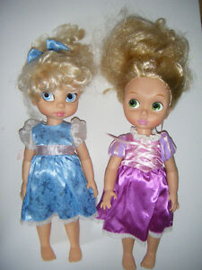 2 Disney Dolls For Sale