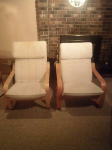 IKEA poang chairs for sale
