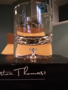 New Winston Thomas old fashioned / whiskey glasses