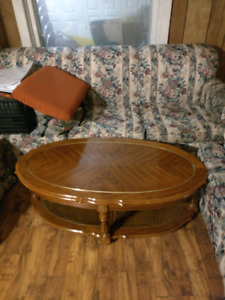 Free Sofa Set, coffee table, and chairs