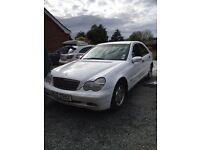 2001 Mercedes c220 CDI