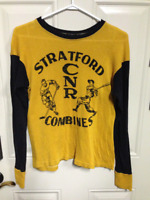 VINTAGE STRATFORD CNR COMBINES JERSEY SWEATER TOP SHIRT