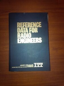 ITT Reference Data for Radio Engineers Hardcover