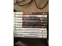 Xbox 360 games JOBLOT