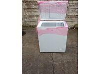 Ex display LOGIK L150CFW13 Chest Freezer – White £100 good bargain call now