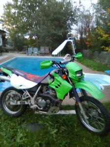 GREAT COND. KLR650 Street&Trail W/Papers
